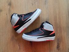Air Jordan 2 Black Infrared BG UK6 US7Y BRANDNEU