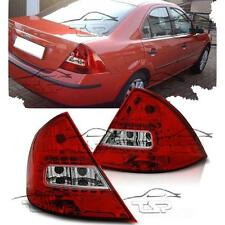 REAR LED TAIL LIGHTS RED-CLEAR FOR FORD MONDEO III 00-07 MK3 SALOON NEW