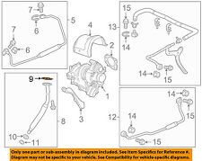 GM OEM Turbocharger Turbo-Oil Inlet Tube Gasket 12589435