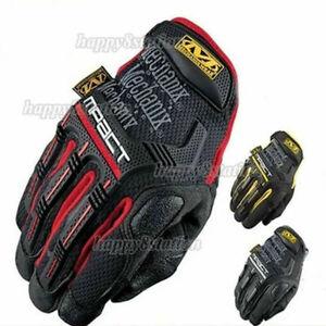 Mechanix M-Pact Tactical Gloves Military Bike Race Sport Mechanic Military NEW