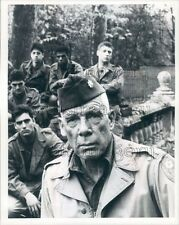 1985 Actor Lee Marvin in The Dirty Dozen Next Mission TV Movie Press Photo