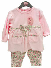 Velour Floral Outfits & Sets (0-24 Months) for Girls