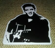 Adesivo Sticker Elvis Presley The King of Music Rock'n Roll Prezzo Scontatissimo
