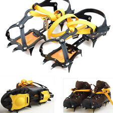 Ice Snow Climbing Anti-slip Shoe Covers Spike Cleats Crampons 10 Teeth Spike