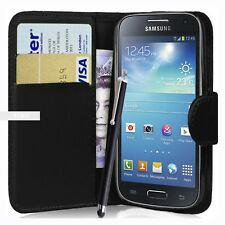 9d7b558a676 Wallet Case Pouch PU Leather Cover for Samsung Galaxy Ace 3 S7270 S7272  S7275