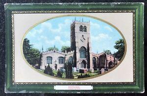Kendal Parish Church Cumbria Postcard England Milton Sellwell Series