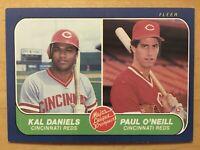 Kal Daniels & Paul O'Neal Rookie 1986 Fleer #646