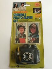 Donny and Marie Camera And Photo Album Set in Unopened Package