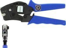 Pince à sertir pour Embouts de câble 0,08-16 mm² auto-orientable