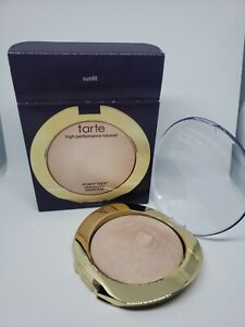 Tarte Shape Tape Glow Powder SUNLIT SWATCHED *READ