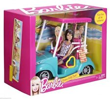 Barbie Golf Cart Includes Skipper  Doll  New & Sealed