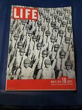 LIFE MAGAZINE JUNE 5, 1944 THE U.S. INFANTRY  WOMEN at WAR COCA- COLA INDIA