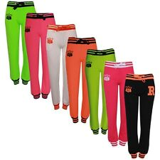 New Womens Ladies Jogger R FOX 61 Bottoms Trousers Gym Jogging Sweat Pants