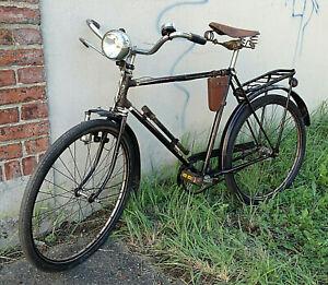 alt Gold Rad Köln Fahrrad Vorkrieg Herrenfahrrad Halbrenner Bosch Lampe Oldtimer