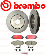 Set of 2 BREMBO Front Rotors & BREMBO Pads Acura RDX & CR-V Crosstour