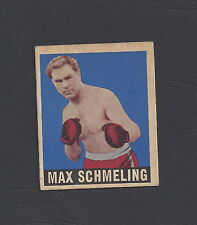 1948 LEAF MAX SCHMELING BOXING CARD #32