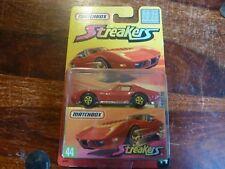 Matchbox Superfast. streakers. No.44 1976. Corvette. en Blister. edición L.