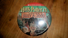 Harry Potter IV Promotional Pin/Button Coming JULY 8, 2000 FREE SHIPPING U.S.A.