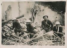 CHAPEI c. 1930 - Tranchée Soldats Japonais Chine - PRM 613