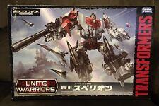 JAPANESE AUTHENTIC! TRANSFORMERS UW01 SUPERION UNITE WARRIORS 01 4904810831686