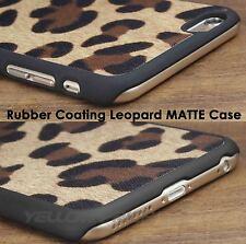 iPhone 6 Case,[Drop Protection]Matte Rubberized Perfect-Fit Leopard Cheetah Case