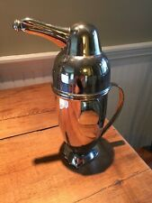 RESTORATION HARDWARE STAINLESS PENGUIN COCKTAIL SHAKER MARTINI ART DECO Style