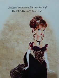 VICTORIAN HOLIDAY BARBIE - NRFB - GOLD LABEL 2006