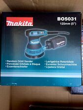 "Makita BO5031 125mm 5"" Random Orbital Sander Electronic Speed Control 240V"