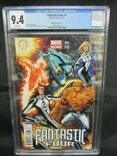 Fantastic Four #1 (2013) Bagley Variant Cover CGC 9.4 White Pages K503