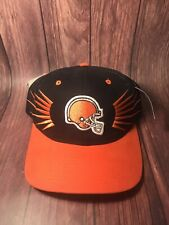 CLEVELAND BROWNS NFL STARTER ADJUSTABLE STRAPBACK CAP/ Sz: OSFM