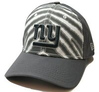 New York Giants New Era 39THIRTY Zebra Striped NFL Football Flex Fit Cap Hat