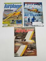 Lot of Three(3) Model Airplane News Magazines December 1984 June 2016 July 2016