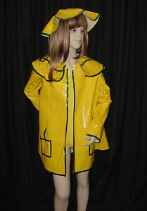 Singing In The Rain Dance Costume Coat Leotard & Hat New Clearance Child X-Small