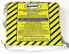 MAYDAY 3600 CALORIE EMERGENCY FOOD BAR RATION MRE ZOMBIE SURVIVAL  FB36MD