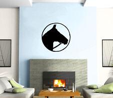 Horse Head Portrait Animal Mural Wall Art Decor Vinyl Sticker z223