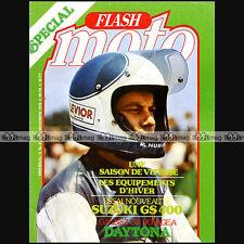 FLASH MOTO N°31 ★ BENELLI 750 SEI ★ SUZUKI GS 400, JEAN COLLAER, TRANS-AMA 1976