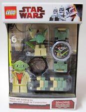 YODA WATCH kids star wars lego MISB & minifigure minifig