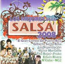 Los Mejores De La Salsa 2008 - Various - Audio CD