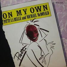"Patti LaBelle(7"" Vinyl P/S)On My Own-MCA-MCA 1045-UK-Ex/VG+"