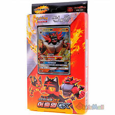 Pokémon Card SUN & MOON Roaring Heat Starter Theme Deck Incineroar-GX Set Korean