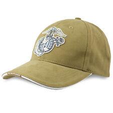 Rothco ufficiali USMC Marines Navy Cotone Twill Cappellino Cappello Coyote Tan NUOVO