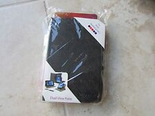 RooCase ASUS MeMOPad HD7 BLACK Leather Dual View Folio Case BOOK Stand LOT of 50