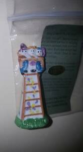 2013 Family on a ladder KING CAKE BABY COLLECTaBLE HAYDEL'S MARDI GRAS