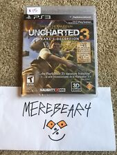 PLAYSTATION 3 PS3 UNCHARTED 3: DRAKE'S DECEPTION GOTY GAME OF THE YEAR NEW