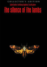 Silence of the Lambs Widescreen 2-DVD Collector's Edition LENTICULAR COVER! NEW!