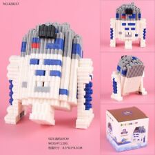 Figure Star Wars R2-D2 Building Blocks Block R2D2 R2 D2 Droid Robot Statue #1