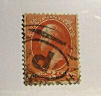 UNITED STATES Sc# 214 Θ used,just fine stamp