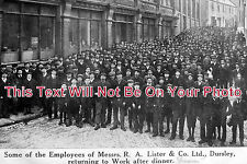 GL 40 - Employees Of Messrs R A Lister & Co, Dursley, Gloucestershire c1905