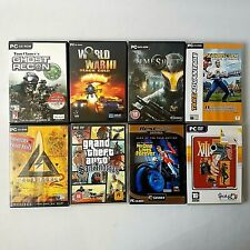 PC Game Bundle 8 Titles GTA San Andreas Ghost Recon Delta Force etc