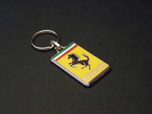 porte-clés émaillé Ferrari 512, Testarossa, 308, 458, 238, 360, 208, 365, 456,